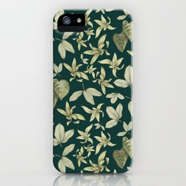 just a few leaves iPhone Case