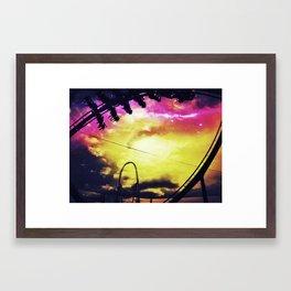 The Swarm Framed Art Print