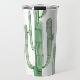Three Amigos White + Green by Nature Magick Travel Mug