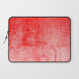 Distressed Coral Textured Canvas Laptop Sleeve