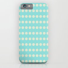 Circular Cyan Pattern iPhone 6s Slim Case