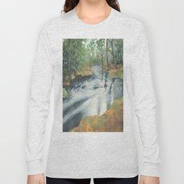 Watercolor Vortex Long Sleeve T-shirt
