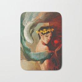 Pisces zodiac tarot card merrill dragon age Bath Mat