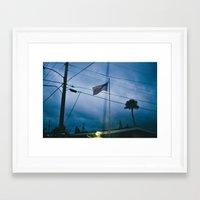 trailer park boys Framed Art Prints featuring Trailer Park by Sarah Kane