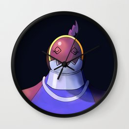Defender Heartless Girl Wall Clock