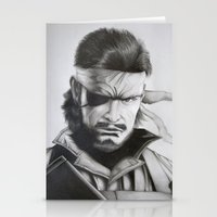 boss Stationery Cards featuring Boss by Neokoi