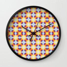 Illuminated Day Tripper Pattern Wall Clock