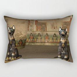 Egypt temple Rectangular Pillow