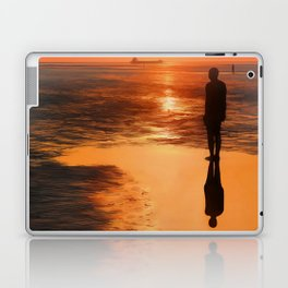 Three Gormley Iron Men Laptop & iPad Skin