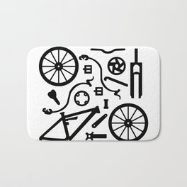 Bike Parts Full Suspension Bath Mat