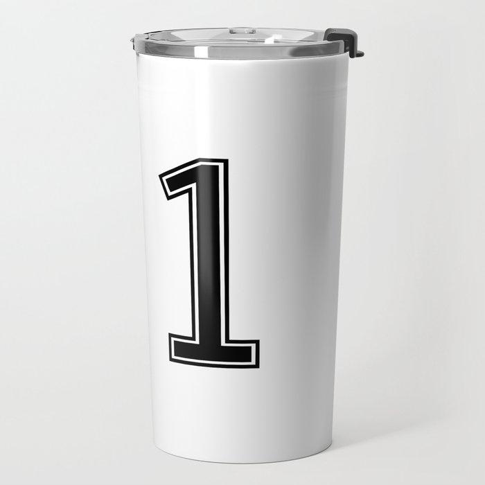 Number 91 American Football, Soccer, Sports Design Travel Mug