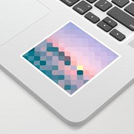 rhombus fantasy dawn Sticker