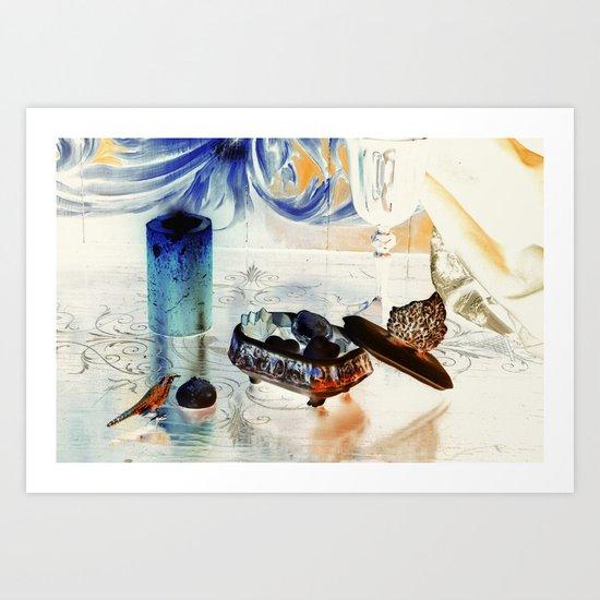 Still Life with Bird Art Print