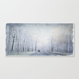 Winter 1968, the Day I was Born! Canvas Print