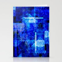 discount Stationery Cards featuring Sapphire Nebulæ by Aaron Carberry