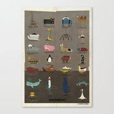 ARCHIZOO Canvas Print