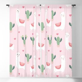 Cute Alpacca's Blackout Curtain