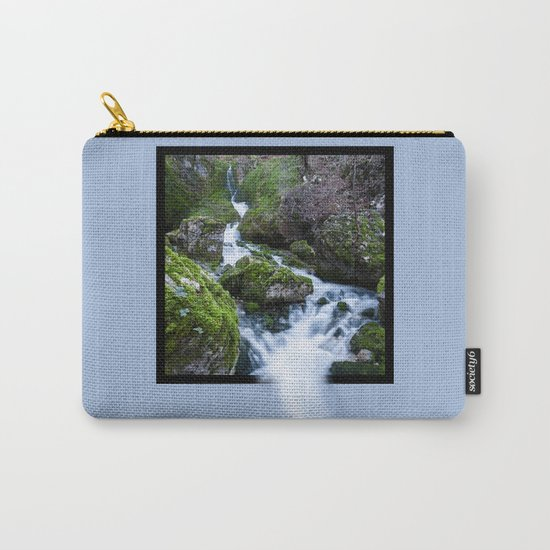 Waterfall Susec with 3D pop out of frame effect Carry-All Pouch