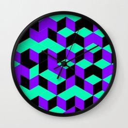 Isometric Steps Wall Clock