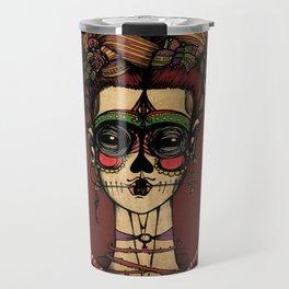 Frida Calaca Travel Mug