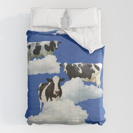 Cows on Clouds Comforters
