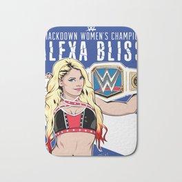 Alexa Bliss - Smackdown Champion Bath Mat