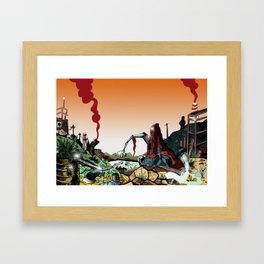 Wasteland  Framed Art Print