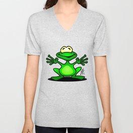 Frog Unisex V-Neck