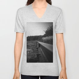 A Scene in Time of a Time Gone By Unisex V-Neck