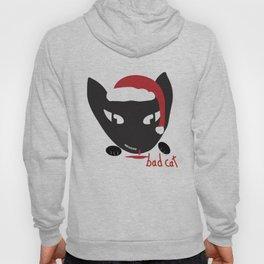 Bad Cat Santa Hoody
