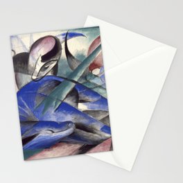 """""""The Dreaming Horses"""" by Franz Marc, 1913 Stationery Cards"""