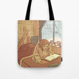 Book Nook Tote Bag