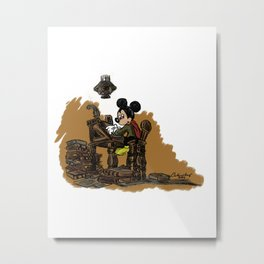 Mickey Christmas Carol! Metal Print