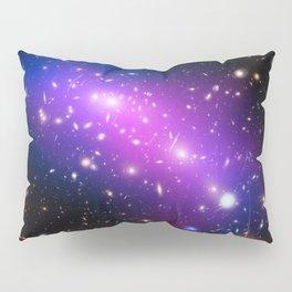 Colliding Galaxies Pillow Sham