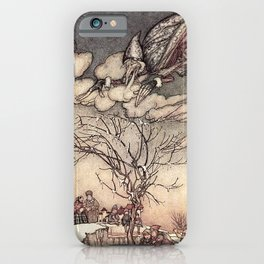"""Jack Frost"" by Arthur Rackham iPhone Case"