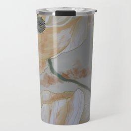 Papaveri bianchi Travel Mug