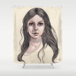 Desert Willow Shower Curtain