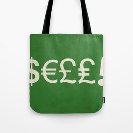 Subliminal Currency Tote Bag