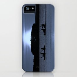 Moonlight Tandems iPhone Case