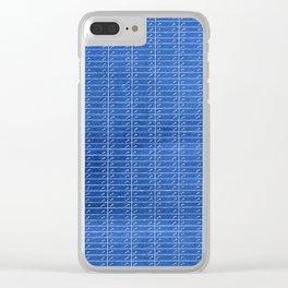 Agnès en bleu 1960 Clear iPhone Case