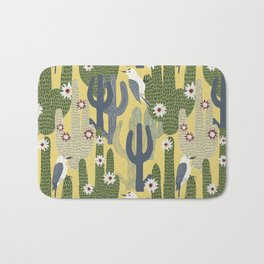 Cactus Wrens Bath Mat