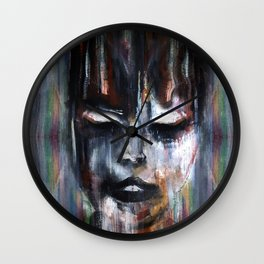 Paint a Gril Wall Clock