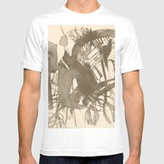 composition 5 White Mens Fitted Tee MEDIUM