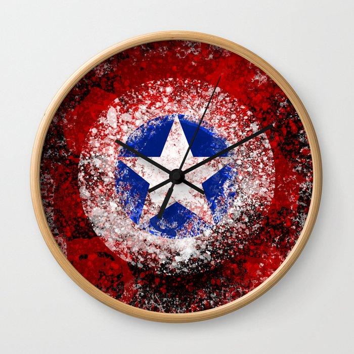 Avengers - Captain America Wall Clock