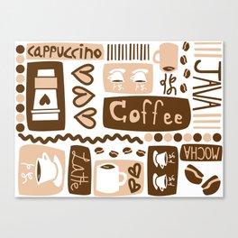 Java Java Java! Canvas Print