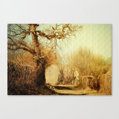 A Norfolk Lane Canvas Print