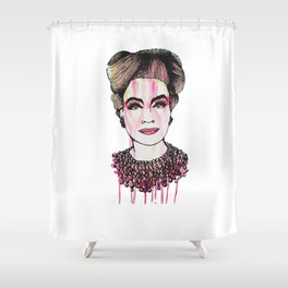 Ruby Mommy Dearest  Shower Curtain