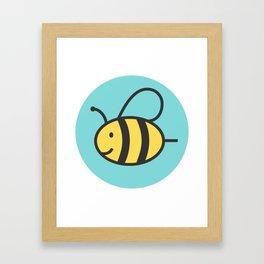 humblebee Framed Art Print