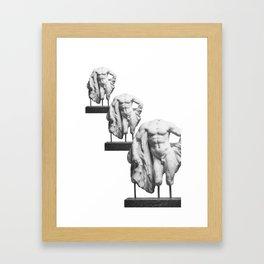 W. Lysippos  Framed Art Print