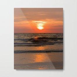 St. Pete Sunset 2 Metal Print